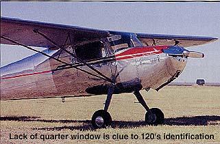 Cessna 120/140 pilot report