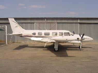 deliver the first navajos its new 6 9 seat twin engined aircraft which