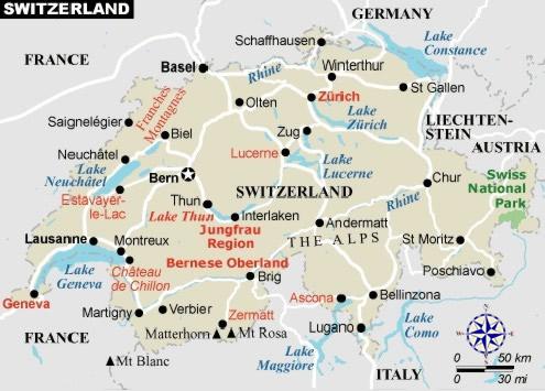 weather maps forecast switzerland