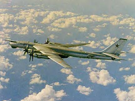 Tupolev Tu 95 Bear