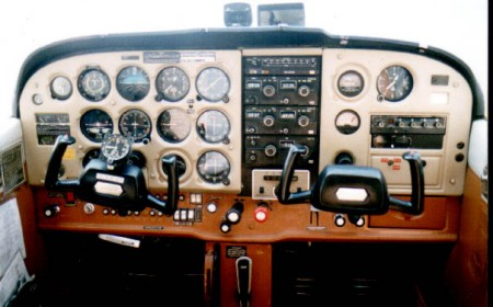 handling notes on the Cessna 172