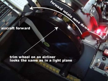 How To Trim An Aircraft And Hold The Control Yoke