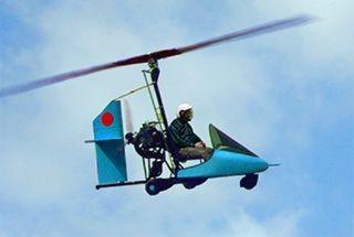 how to fly an autogyro