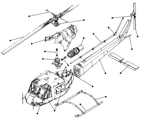 The Main Components Of A Helicopter