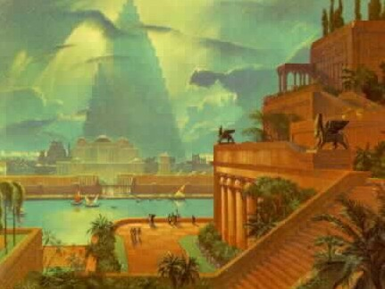 Hanging gardens of babylon for When was the hanging gardens of babylon destroyed