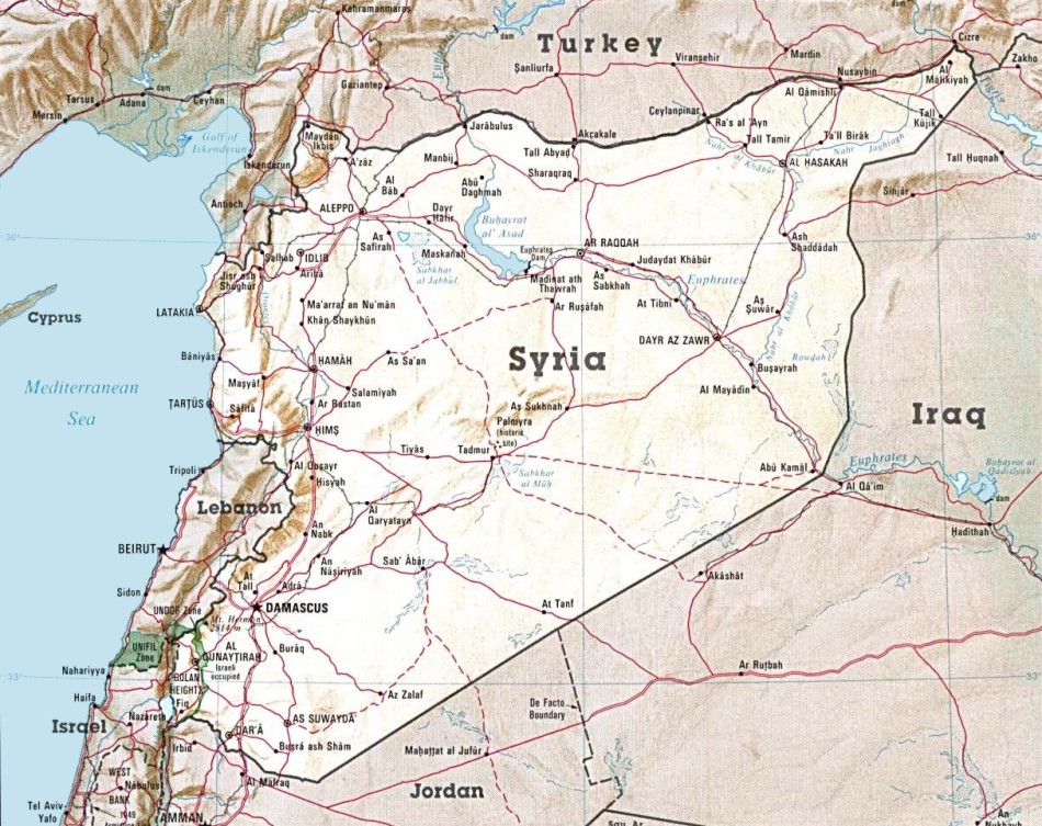 Syria maps