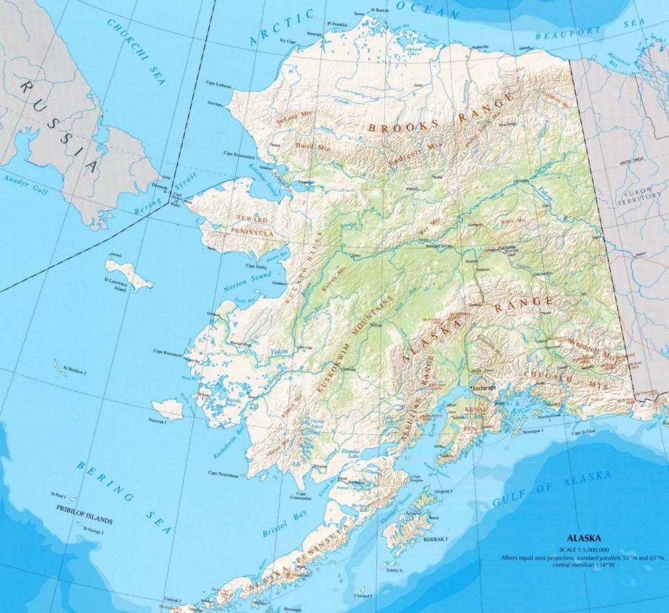 21 Beautiful Alaska World Map Bnhspine Com