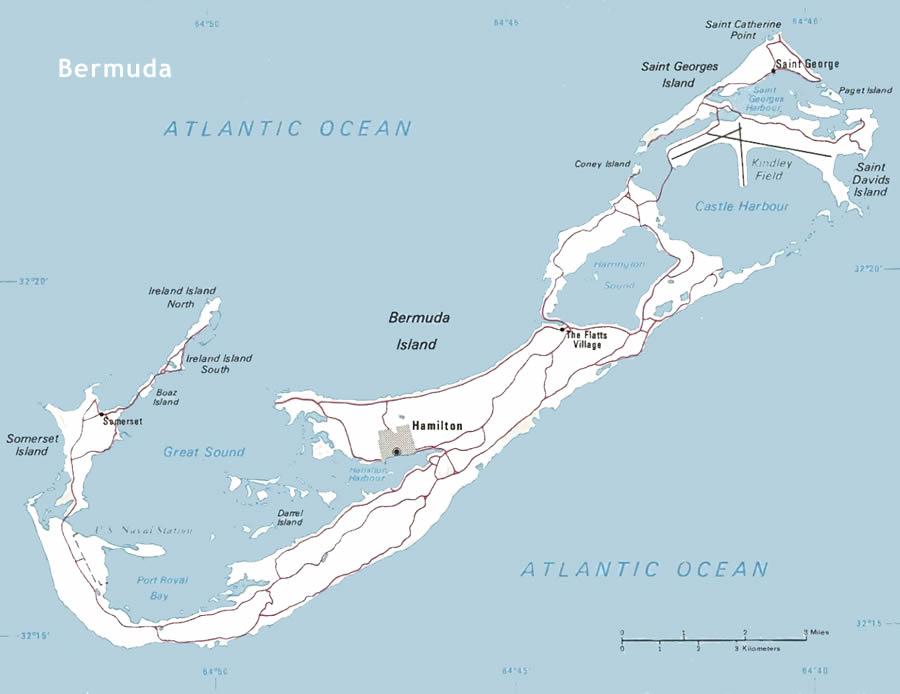 Bermuda maps