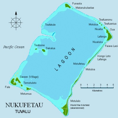 Tuvalu Islands Map - Tuvalu map